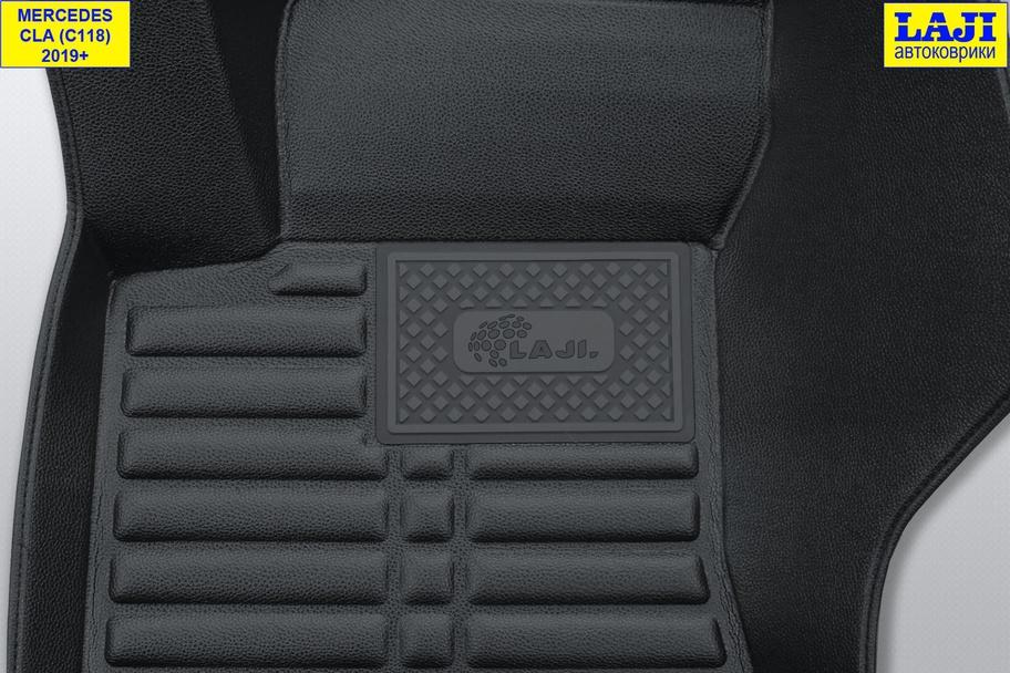 5D коврики в салон Mercedes CLA C118 2019-н.в. 7
