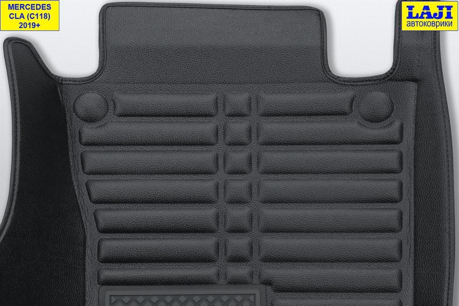 5D коврики в салон Mercedes CLA C118 2019-н.в. 8