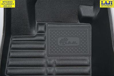 5D коврики в салон Mitsubishi Outlander 2 2005-2013 7