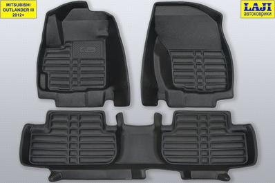 5D коврики в салон Mitsubishi Outlander III 2012-н.в. 1
