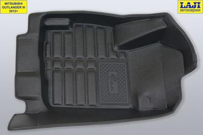 5D коврики в салон Mitsubishi Outlander III 2012-н.в. 2