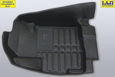 5D коврики в салон Mitsubishi Outlander III 2012-н.в. 3