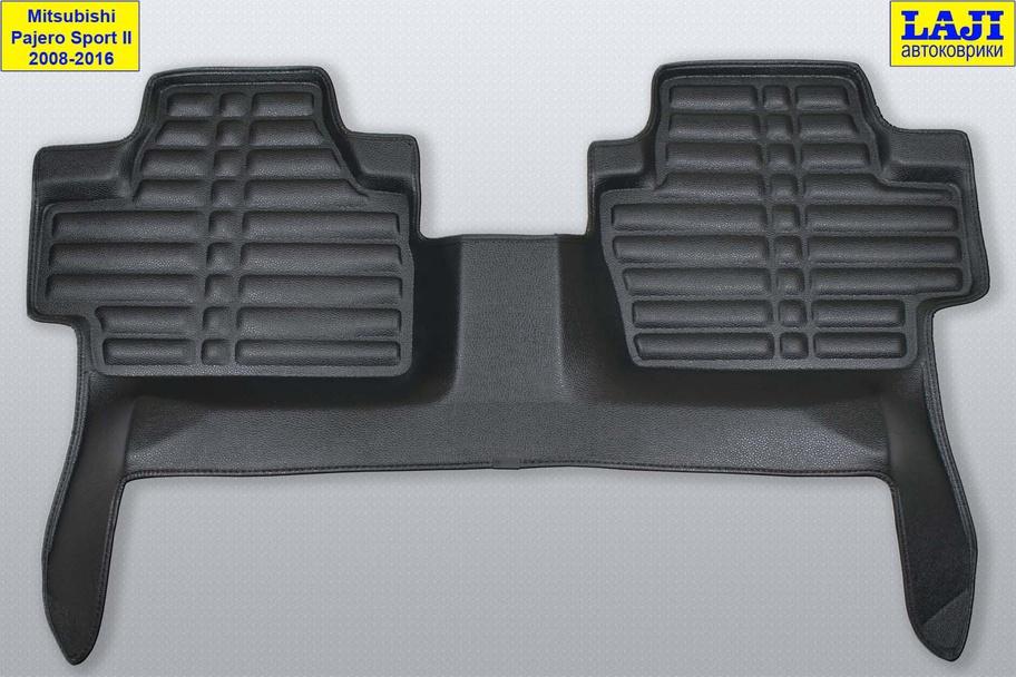 5D коврики в салон Mitsubishi Pajero Sport 2 2008-2016 10