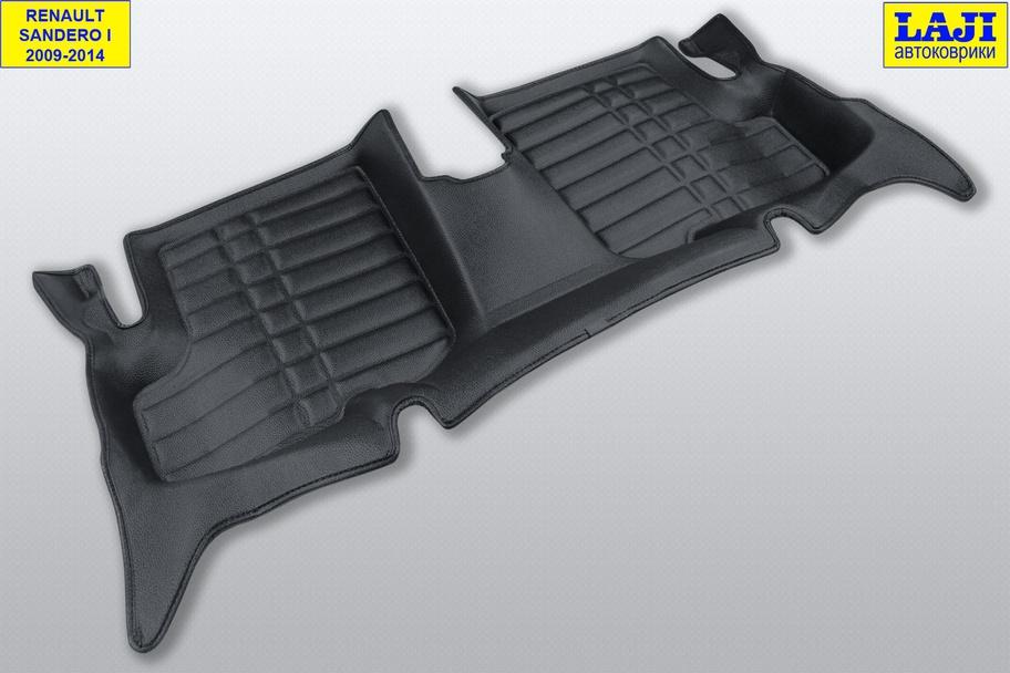 5D коврики в салон Renault Sandero 1 2009-2014 9
