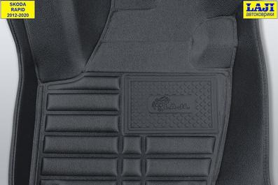 5D коврики в салон Skoda Rapid 1 2012-2020 7
