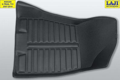 5D коврики в салон Nissan X-Trail 2 T31 2007-2014 4