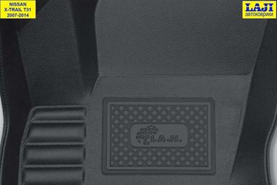 5D коврики в салон Nissan X-Trail 2 T31 2007-2014 7