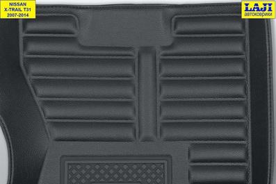 5D коврики в салон Nissan X-Trail 2 T31 2007-2014 8