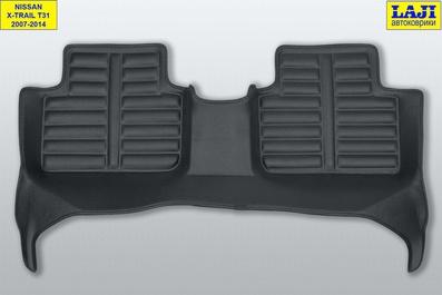 5D коврики в салон Nissan X-Trail 2 T31 2007-2014 9