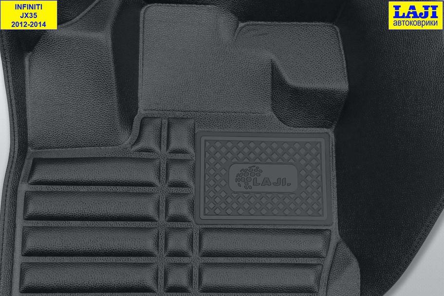 5D коврики в салон Infiniti JX35 2012-2014 7
