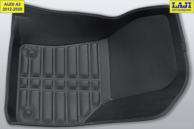 5D коврики для Audi A3 (8V) 2012-2020 4