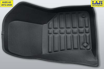 5D коврики для Audi A3 (8V) 2012-2020 5