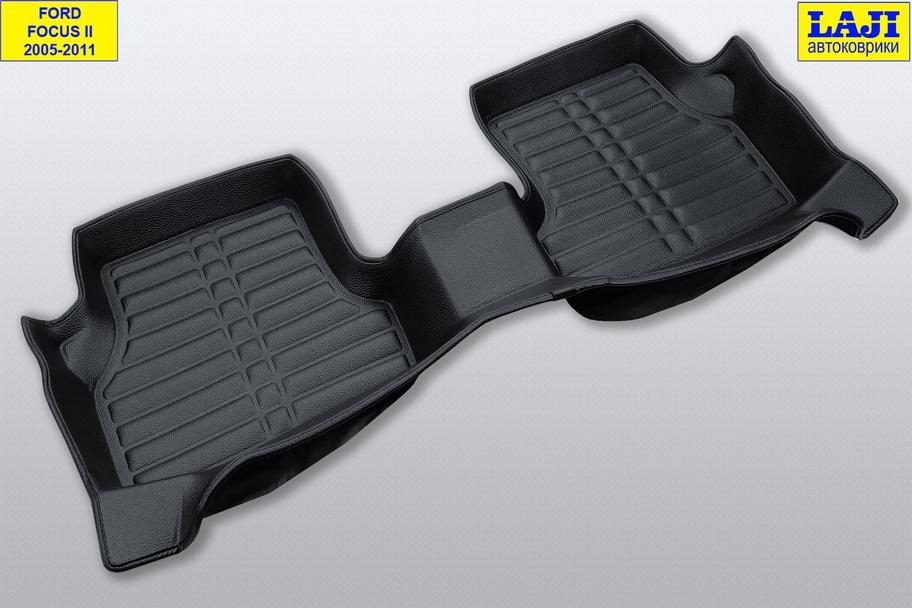 5D коврики в салон Ford Focus 2 2005-2011 9