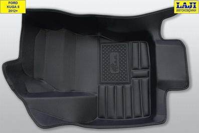 5D коврики в салон Ford Kuga 2012-н.в. 3