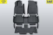 5D коврики в салон Hyundai Palisade 2020-н.в. 1