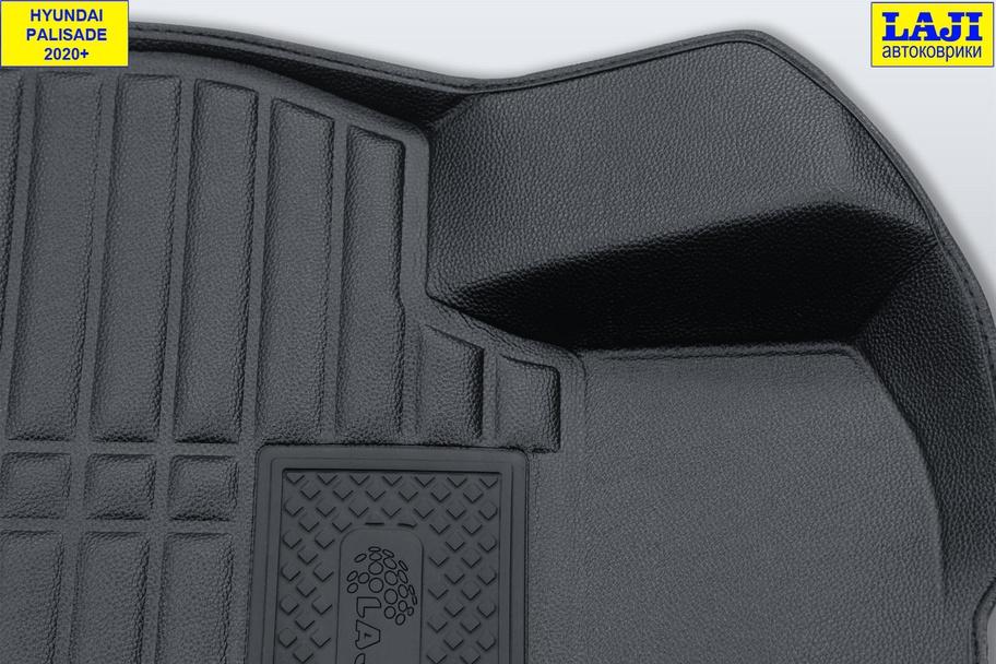 5D коврики в салон Hyundai Palisade 2020-н.в. 6