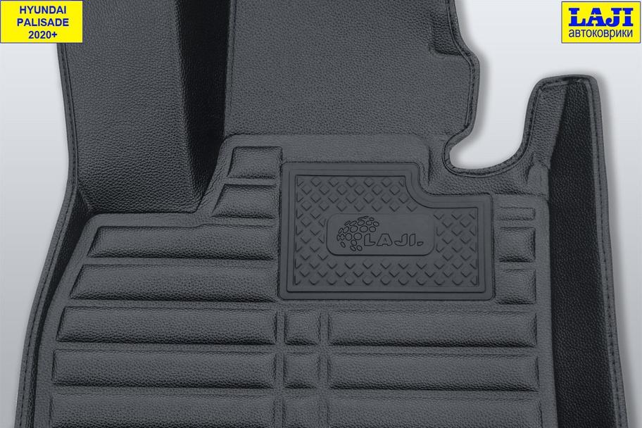 5D коврики в салон Hyundai Palisade 2020-н.в. 7