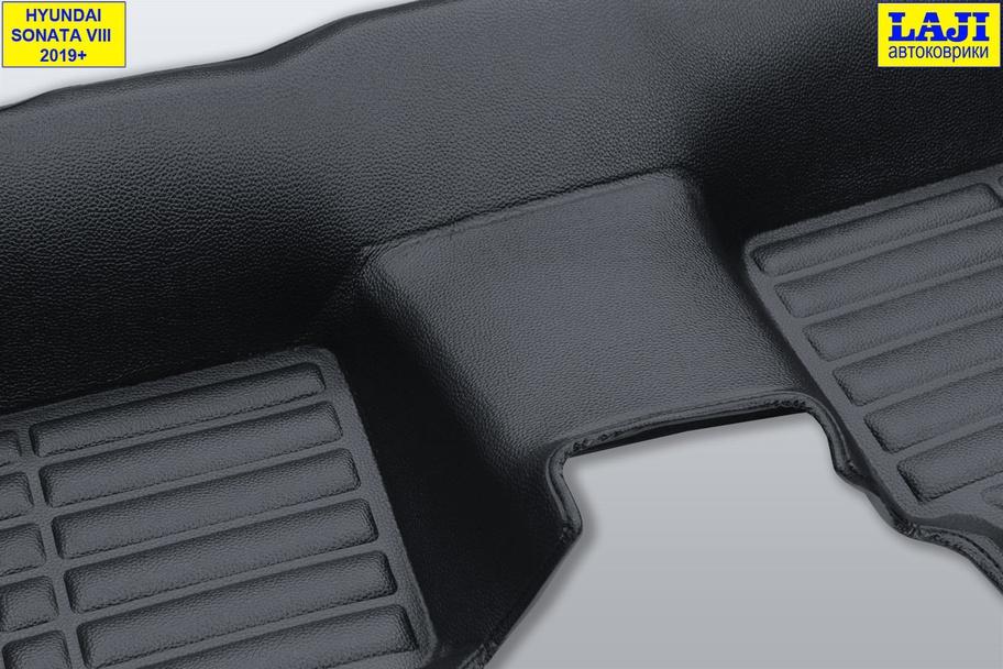 5D коврики в салон Hyundai Sonata 8 2019-н.в. 11