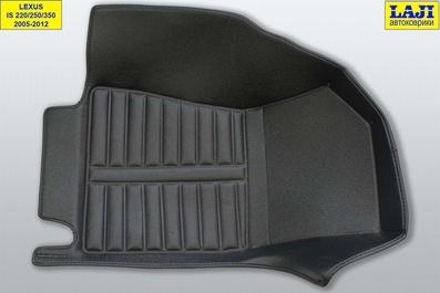 5D коврики в салон Lexus IS 3 2013-н.в. 4