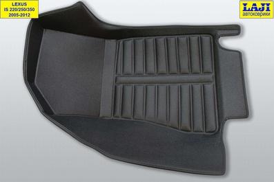 5D коврики в салон Lexus IS 3 2013-н.в. 5