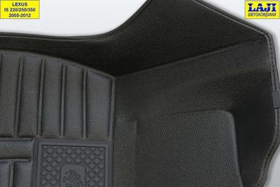5D коврики в салон Lexus IS 3 2013-н.в. 6