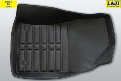 5D коврики в салон Lexus UX 2019-н.в. 4
