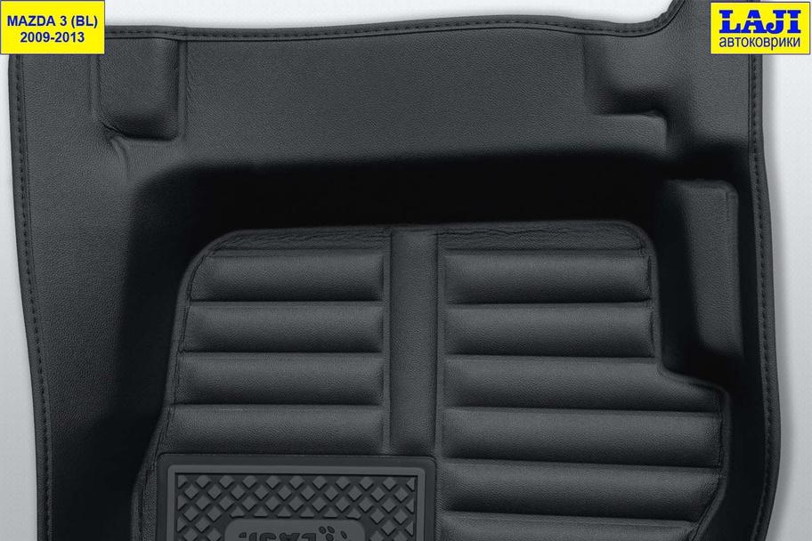 5D коврики в салон Mazda 3 BL 2009-2013 8