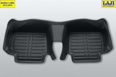 5D коврики в салон Mazda 3 BM 2013-2019 9