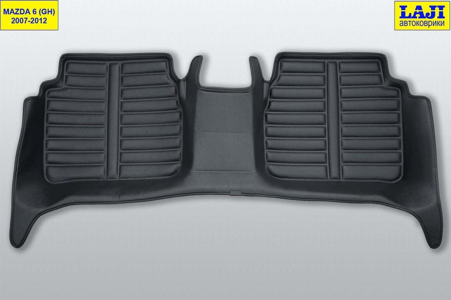 5D коврики в салон Mazda 6 GH 2007-2012 10