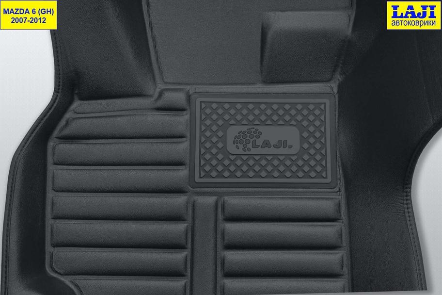 5D коврики в салон Mazda 6 GH 2007-2012 7