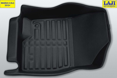 5D коврики в салон Mazda 6 GJ 2012-н.в. 4