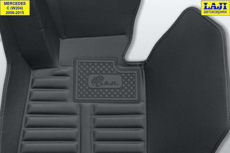 5D коврики в салон Mercedes С W204 2006-2015 7