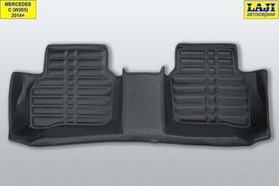 5D коврики в салон Mercedes С W205 2014-н.в. 10