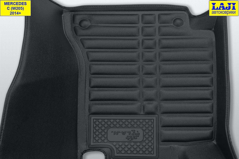 5D коврики в салон Mercedes С W205 2014-н.в. 8
