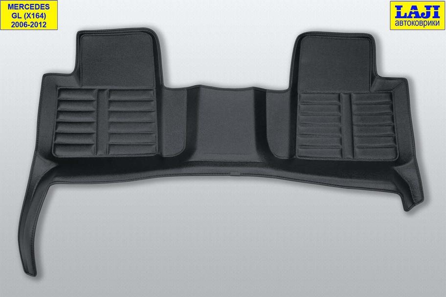 5D коврики в салон Mercedes GL X164 2006-2012 10
