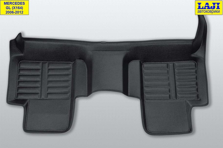 5D коврики в салон Mercedes GL X164 2006-2012 9