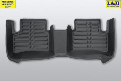 5D коврики в салон Mercedes GLA X156 2013-2020 10