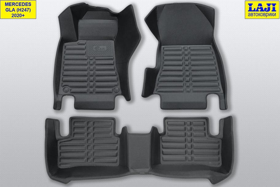 5D коврики в салон Mercedes GLA H247 2020-н.в. 1