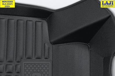 5D коврики в салон Mercedes GLA X156 2013-2020 6