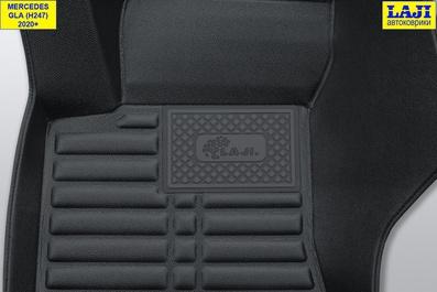 5D коврики в салон Mercedes GLA H247 2020-н.в. 7