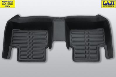 5D коврики в салон Mercedes GLA X156 2013-2020 9
