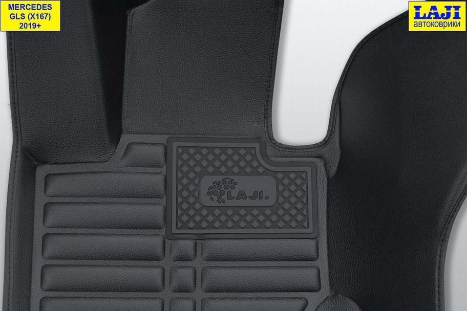 5D коврики в салон Mercedes GLS X167 2019-н.в. 7