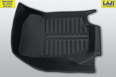 5D коврики в салон Mercedes ML W164 2005-2011 5