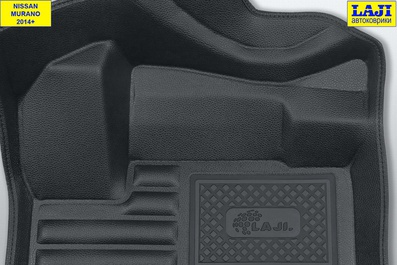 5D коврики в салон NIssan Murano 3 Z52 2014-н.в. 7