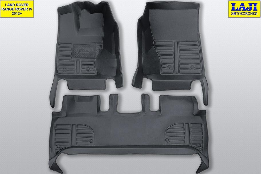 5D коврики в салон Range Rover 4 2012-н.в. 1