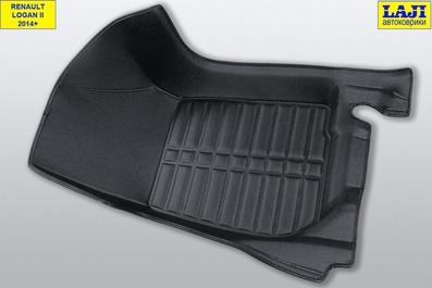 5D коврики в салон Renault Logan 2 2014-н.в. 4