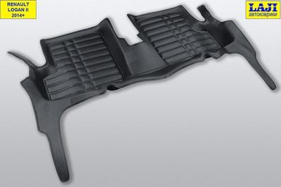5D коврики в салон Renault Logan 2 2014-н.в. 9