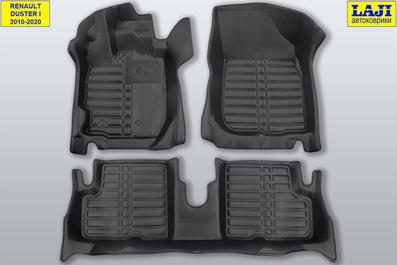 5D коврики в салон Renault Duster 2010-2020 1