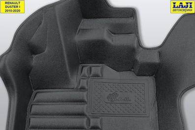 5D коврики в салон Renault Duster 2010-2020 6