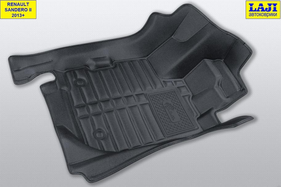 5D коврики в салон Renault Sandero Stepway 2 2014-н.в. 2